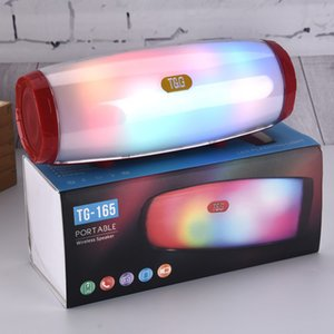 TG157 Portátil LED altavoz Bluetooth TG-157 Radio impermeable inalámbrico Radio FM Mini columna Bass MP3 Subwoofer Caja de música