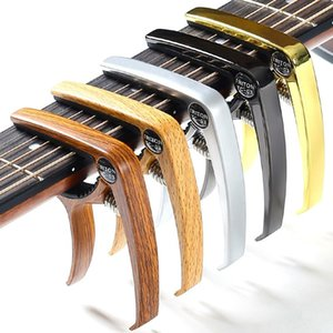 Acoustic Guitar Capo Universal For Electric Zinc Alloy Metal Accessories Party Favor