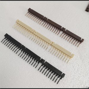 Connectors 80Pcs 10Rows Combo Black Brown Blonde 6D Hair Extensions Buckle For Connection Clip Fastest No Trace In Salon Equipment Gk5 17Wcw
