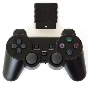 Game Controllers & Joysticks Suitable For Ps2 2.4g Wireless Vibrating Controller Handle Joystick
