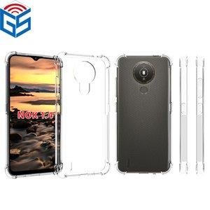Pour Nokia XR20 1.4 5.4 6.2 7.2 7.2 Cover de couverture arrière du gel de gel TPU TPU