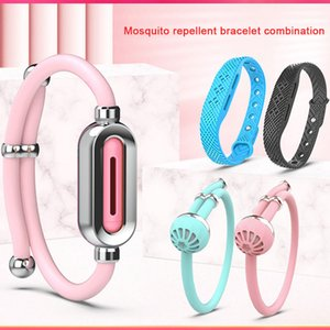 Pest Control Anti-Mosquito Repellent Bracelet Silicone Plant Essential Oil Harmless Non-toxic Wristband Insect Repellents Bracelets