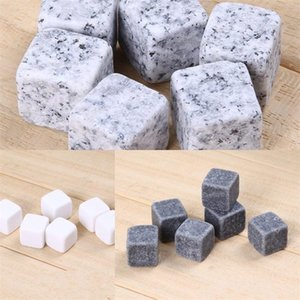 Speckles Spot Pure White Icecube 6 Pcs Bag Iceblock Square Refrigeration Reusable Ice Stone Cooling Beer Drinkings Wine 6 1fy C2
