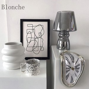 Table Lamps Selling Small Glass Lamp Bedroom Bedside Homestay Desk Stained Cute 100-240V Universal