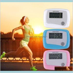 Pedometer Portable Mini Digital Lcd Running Step Pedometer Walking Distance Counter 1X2P5 Lx3Ef