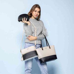 bag LOVEVOOK shoulder crossbody bags for tote ladies large set 3 pcs clutch and purse luxury handbag women designer