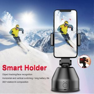 Selfie Monopods Portable Auto Smart Shooting Stick 360 Rotation Face Tracking Object Vlog Pography Camera Phone Holder