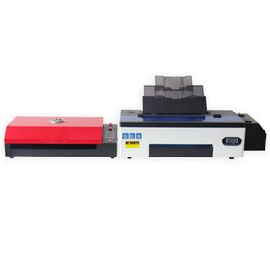 Size DTF Printer For R1390 PET Film T-Shirt Heat Transfer Printing Machine Hoodies Hat Leather Jeans Printers