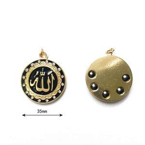 Ювелирные изделия ручной работы оптом ожерелье из бисера Ожерелье из бисера Ожерелье Hematite Индонезийские религиозные символы Тотемное подвеска