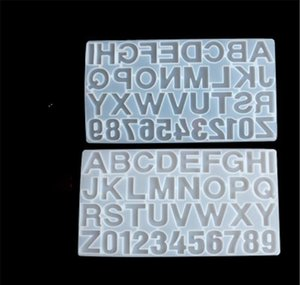 Baking Moulds Bakeware Kitchen, Dining Bar Home Garden Drop Delivery 2021 Small Diy Resin For Letters Letter & Sile Molds Number Alphabet Jew
