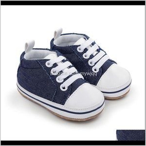 Baby, Kids & Maternity Drop Delivery 2021 Boy Girl Sneaker Cotton Soft Anti-Slip Sole Born Infant First Walkers Toddler Baby Casual Canvas Cr