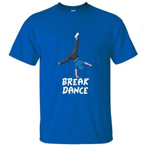 Graphic Breakdance Breakdancing Bboy Girl Break Dance Men T Shirt Gift Crew Neck Kawaii T-Shirt Adult Solid Color Tee Tops [<uyziglo@163.com