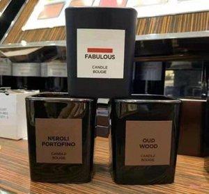 High End Marke 2.25in 5,7cm Parfüm Kerze Bougie Lost Cherry / Oud Wood / Fabulous / Neroli Portofino / Tabak Vanille Duft Aromatherapie