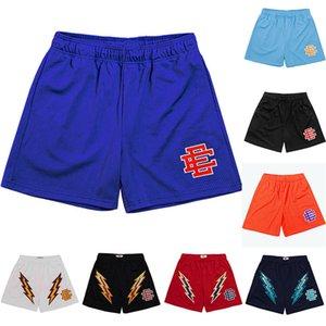 Eric Emanuel EE Básico Básico Mens Mulheres Designers Fitness Shorts Malha Respirável Pants Calças de Esportes Basquete Pant New York