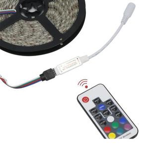 2021 Led Strip 5 12 24 V Volt RGB USB IR RF Remote Controller 5V 12V 24V USB LED Strip light 17 Key Remote Wireless Controller