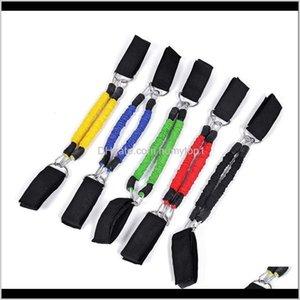 Banda de bandas de la resistencia de la resistencia de la resistencia de la pierna con la banda de látex de goma natural con la cuerda de extracción de la fuerza elástica de alto color para hombres 17kn jj ayds fw3ps