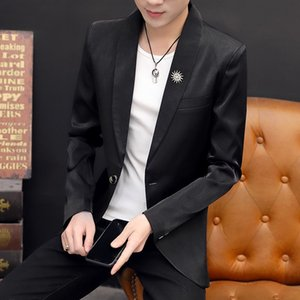 Suits Spring and Autumn Blazer Coat Korean Trend Slim Suit Handsome Leisure Youth Jacket Men's Wear