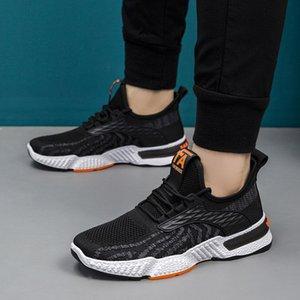 Мужская летняя обувь Дышащая противоскользящая повседневная износостойкая спортивная легкая амортизация марафона