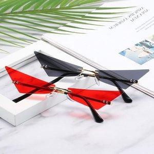 Net Korean Triangle Of Jump 2021 Di Retro Version Sunglasses And American Trend Red Women European Men Modmn