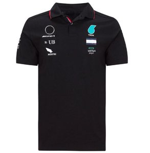 Summer F1 World Formula One Championnat Course Polo Jersey T-shirt à manches courtes à séchage rapide