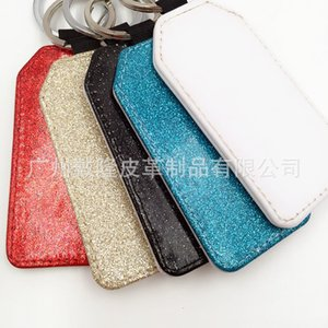 Pu heat transfer Keyring Bottle Keyring blank high temperature sublimation accessories consumables