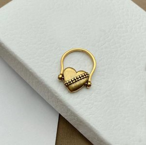 Fashion Charm love ring for women trend personality style Lovers gift jewelry with box NRJ