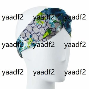 Vintage Letters Flowers Head Bands Womens Summer Cross Design Headbands Yoga Sports Fitness Street Style Headband