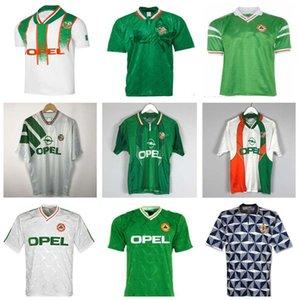 1992 1993 IReland Retro Soccer Soccer Jersey 1990 Home Classic Vintage Irish Sheedy 1994 1995 1995 1996 Away Футбольные рубашки 1997 1998 McGrath Keane Houghton Aldridge