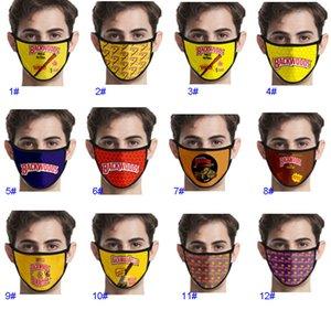 3d Digital Printing Mask Backwoods Cigar Washable Cotton Outdoor Riding Dust Masks For Women Men GWA4799