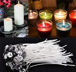 Décor Home & Garden Drop Delivery 2021 60Pcs Durable Candle Wicks Cotton Core Waxed With Sustainers For Diy Making Candles Gifts Supplies 4 I