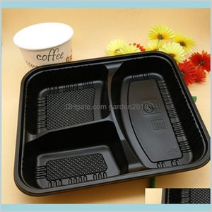 Packaging Dinner Service Packing & Office School Business Industrial Fedex Send Disposable Bpa Food Containers With Lids Bento Box Lun