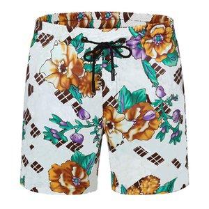 Hommes Piste Shorts Pantalons Style de mode avec lettres haletés Cordon de serrage Ajuster les pantalons Sport Pantalons courts Street Shortwears pour printemps Summers Beach Pant Vêtements