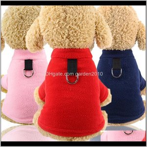 Apparel Dog Clothes Winter Warm Pet Jacket Coat With Leash Chihuahua Clothing Hoodies For Puppy Yorkshire Costume Outfit Xsxxl T8Psw Djnzt