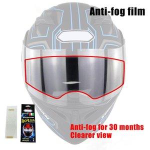 Motorcycle Helmets Helmet Anti-fog Films Waterproof Protective Stickers For Moto Lens Visor C44