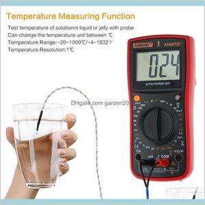 Multimeters Electrical Instruments Measurement & Analysis Office School Business Industrial An881B+ True Rms Digital Multimeter Tester