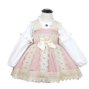 Vestidos de niñas Cekcya Baby Girls Spanish Toddler Turquía Vintage Princess Vestido para Niños Niños Lolita Bola Vestido Fiesta de cumpleaños