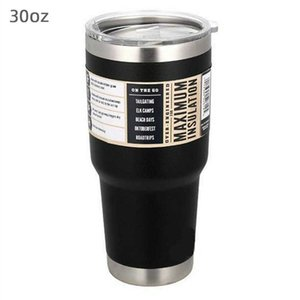 30 20oz Travel Coffee Mug Stainless Steel Thermo Tumbler Cup Vacuum Flask Thermo Cup Bottle Thermocup Garrafa Termica Water Cup H0831