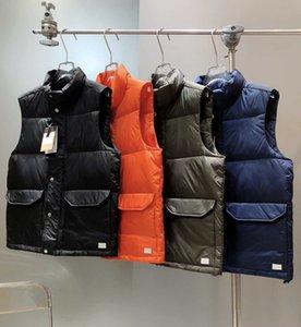 Men's Designer Down Vest Jacket Luxury Autumn Winter Jacket Fashion Letter Embroidery Women's Vests High Quality Jackets Size M-3XL