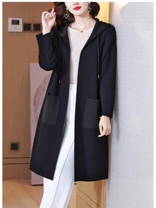 Women's Trench Coats Miyake Folds Early Autumn Windbreaker Female Small Black Temperament Was Thin Short And Large Size Cardigan Jacket