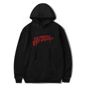 Kpop The Perfect Red Velvet Moleton Streetwear Hoodies Hooded Women Men Sweatshirt Harajuku Korean Loose Friends Top