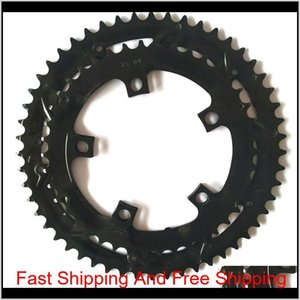 Electric Bicycle Part Cycling Sports Outdoors Drop Delivery 2021 Dual Chainring Ring Chain Wheel 5242 For Tsdz2 Tongsheng Motor 52T 42T 52 42