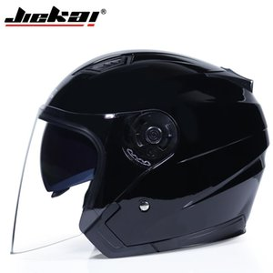 Motorcycle Open Face Helmets Dual Lens Visors Men Women Summer Electric Bicycle Helmet Scooter Motorbike Moto Bike