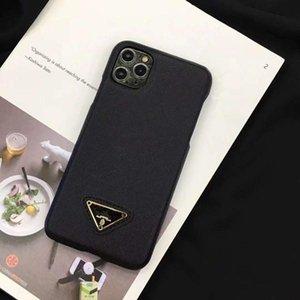 Estuche para estuches para teléfono de moda para iPhone 12/11 / 11PRO / 11PRO MAX / XR XSMAX X / XS 7P / 8P7 / 8 / Diseñadores de alta calidad Realmente cubre Shell 2-Color