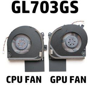 Laptop Replacement Cooler Fan For ASUS ROG STRIX GL703 GL703GS GL703GM Laptop CPU Cooling Fan DC12V 0.4A