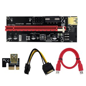 VER 009S GPUs Riser Card PCI-E 1X To 16X Graphics Extension for GPU Mining Powered Risers Cards ETH Bitcoin Miner