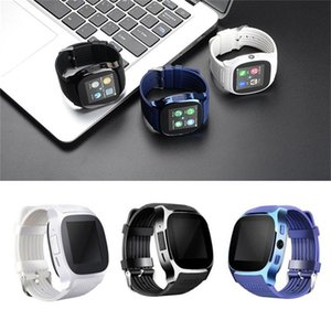 Sports T8 Bluetooth Smart Watch Support SIM TF Card Wrist Band Bracelet Smartwatch with OLED Screen for Men Women