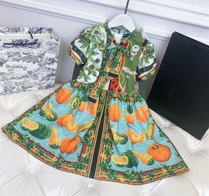 Été bébé vêtements fille robe de haute qualité enfants nouvel arrivée robe de fleurs 100-160 robes de filles