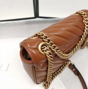 2021Top Quality Fashion Shoulder Bags Women Chain Crossbody Handbags Lady Leather Handbag Purses Wallet Purse Female Messenger Bag Many Colors Chooes