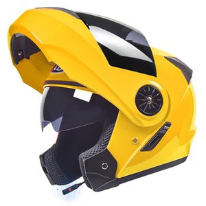 Cascos de motocicleta Casco Bluetooth Casco Dual Visor Cara completa Modular Flip Up Crash Motocross Street Bike Racing Cycling
