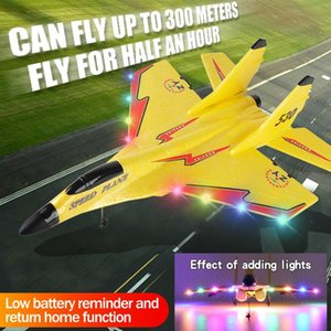 2.4g Glider RC Drone 530 Fixed Wing Airplane Hand Throwing Foam Electric Remote Control Outdoor Plane Toys For Boys Drones